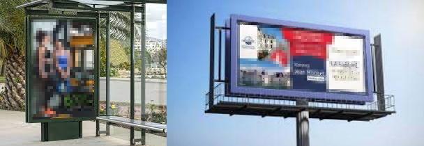 Fin des panneaux de publicités commerciales