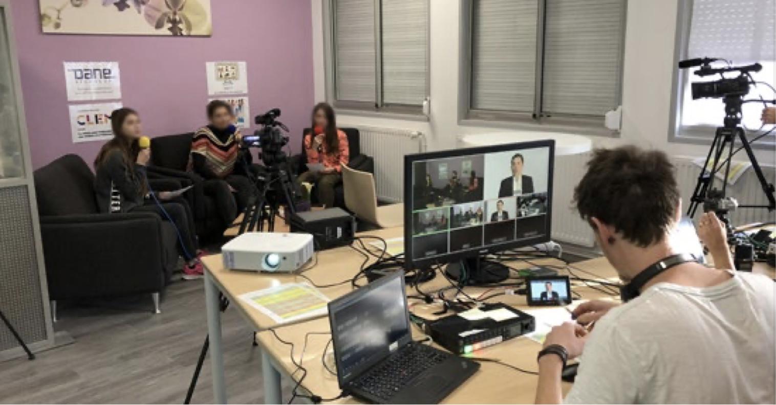 Création d'une WebTV citoyenne