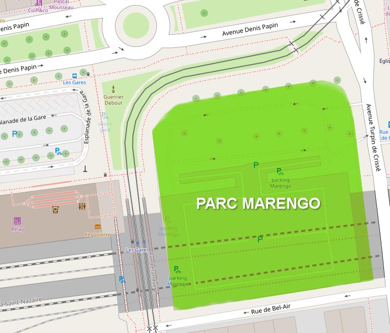Création du parc Marengo