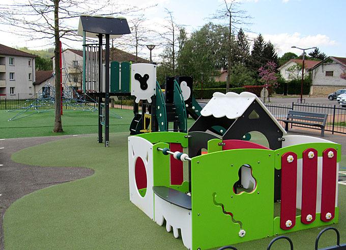 Des espaces de jeux pour les enfants au coeur d'Angers