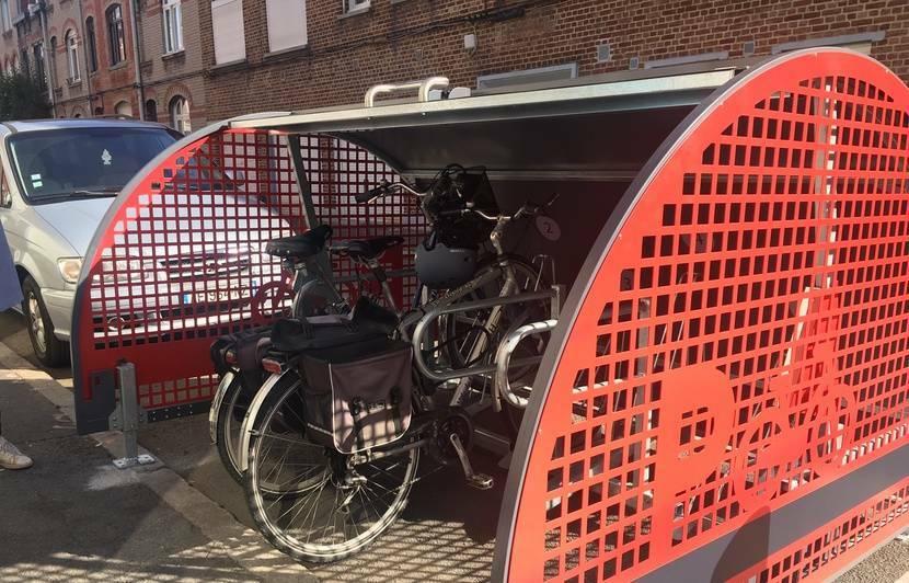 Parkings à vélos sécurisés près de chez soi