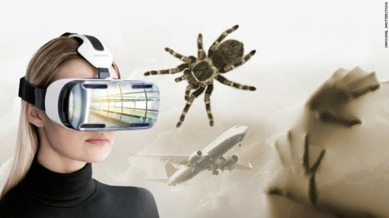 Cabinet de réalité virtuelle pour vaincre sa phobie