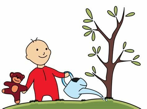 Planter un arbre pour la naissance d'un enfant