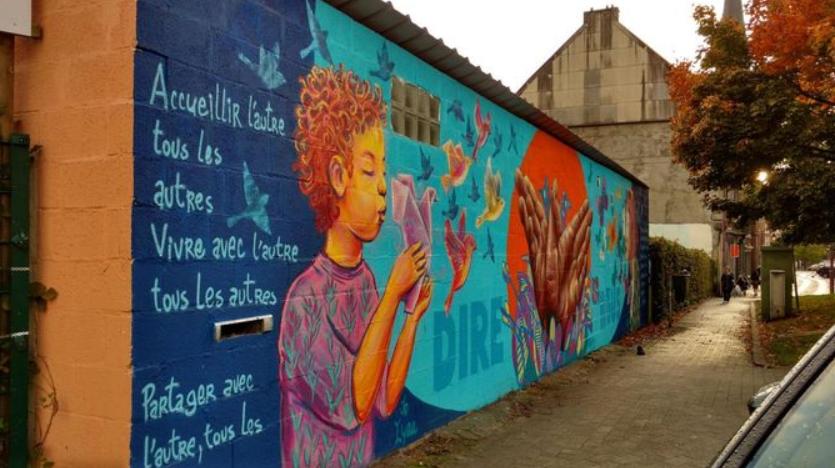 Peignons les murs de nos écoles pour un futur solidaire et écologique