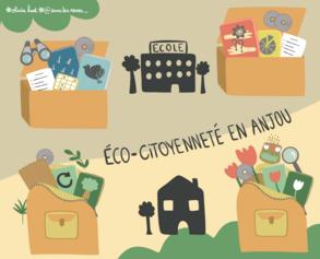 15/ Jouer pour apprendre l'éco-citoyenneté avec des malles conçues localement !