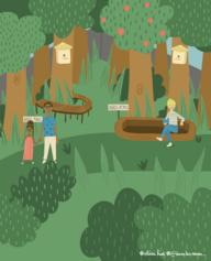 21/ Une oasis nature en centre-ville: promenade citoyenne et pédagogique sur la biodiversité