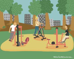 31/ Venez tonifier vos muscles en plein air au Jardin Eblé