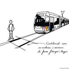 Sécurisation des rails de tramway