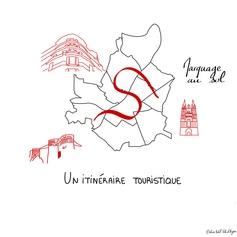 16 / Le fil rouge, itinéraire touristique
