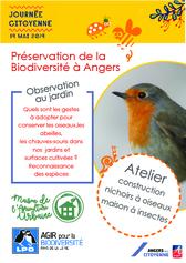 Affiche Préservation de la Biodiversité à Angers