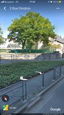 Mur d'accès à l'école