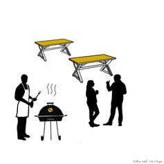 40 / Des barbecues dans la ville