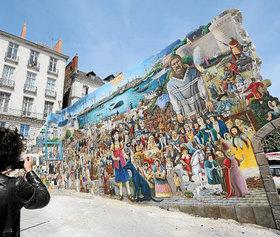 La fresque de Nantes