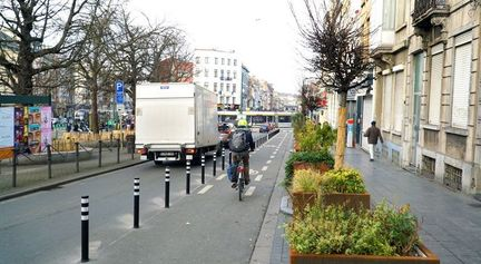 piste cyclable sécurisée