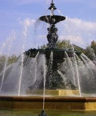 Fontaine du parc du mail