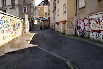 La rue de la croix aujourd'hui