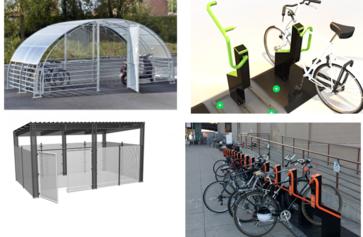 Parkings vélos verrouillables avec Atout