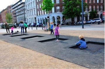 Trampolines de rue
