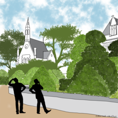 23/ Repenser l'aménagement du parc du Pin