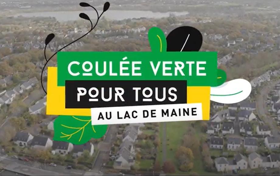 Une coulée verte pour tous au Lac-de-Maine
